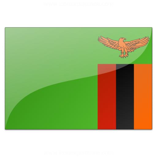 Flag Zambia Icon