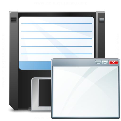 Floppy Disk Window Icon