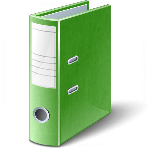 Folder 2 Green Icon
