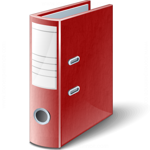 Folder 2 Red Icon