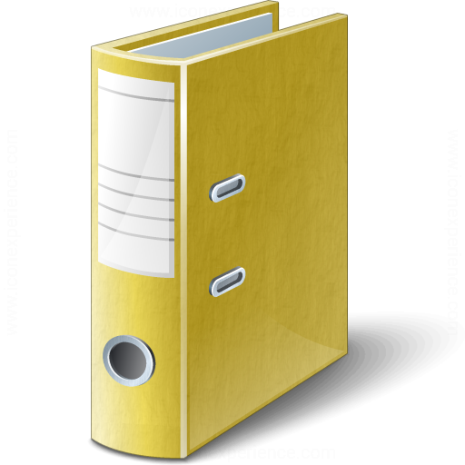 Folder 2 Yellow Icon