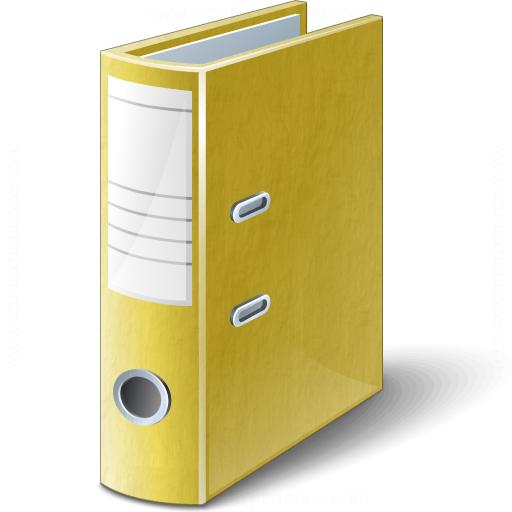 Folder 2 Yellow Icon