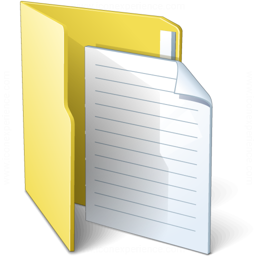 Folder 3 Document Icon