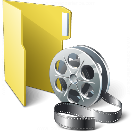 Folder 3 Movie Icon