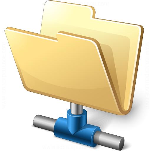 Folder Network Icon