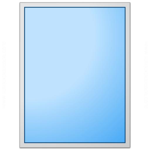 Form Blue Plain Icon