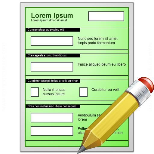 Form Green Edit Icon