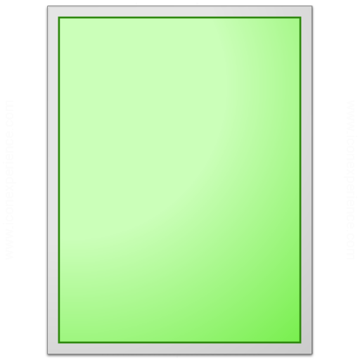 Form Green Plain Icon