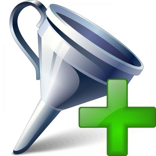 Funnel Add Icon