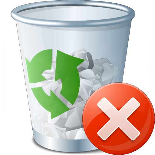 Garbage Error Icon