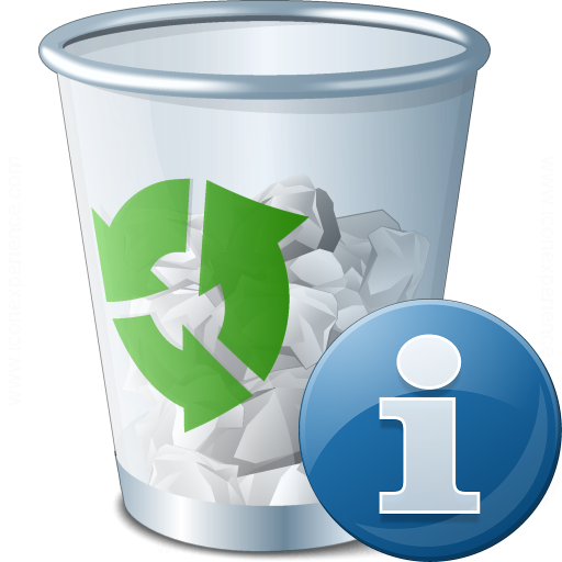 Garbage Information Icon