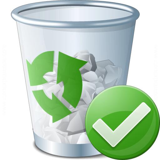 Garbage Ok Icon