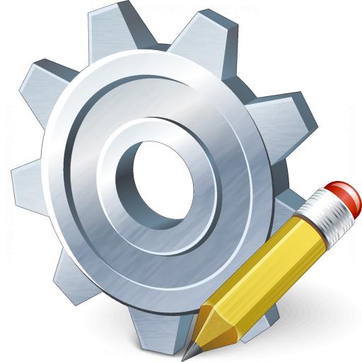 Gear Edit Icon