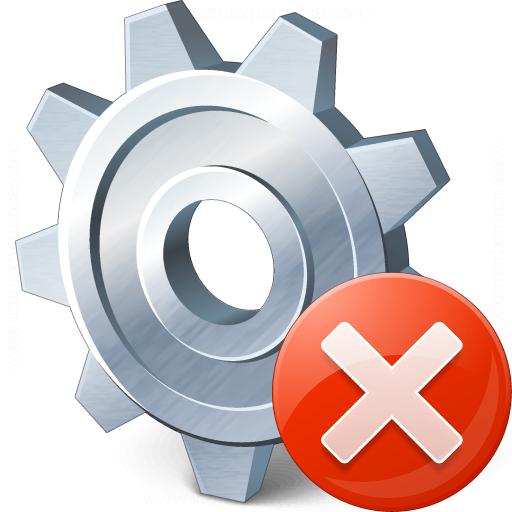 Gear Error Icon