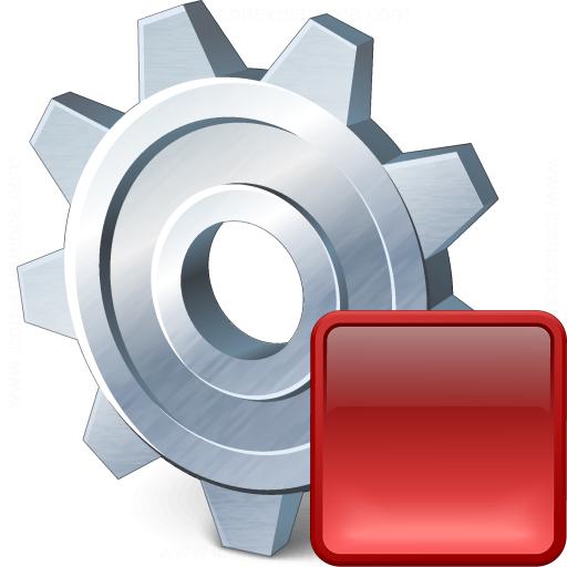 Gear Stop Icon