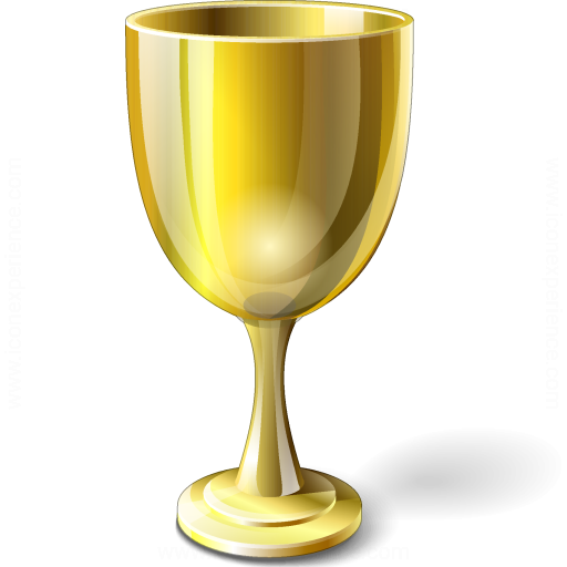 Goblet Gold Icon