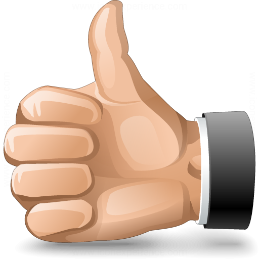 Hand Thumb Up Icon