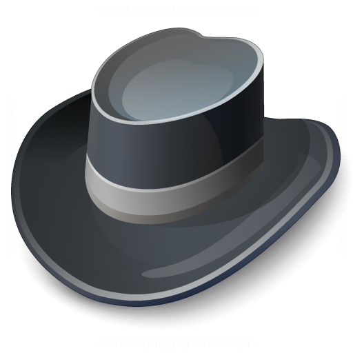 Hat Black Icon