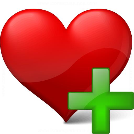 Heart Add Icon