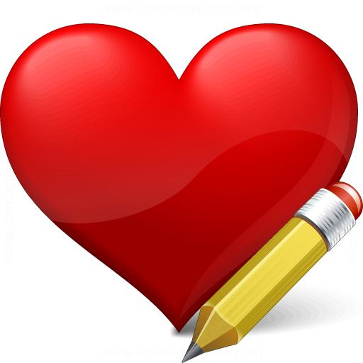 Heart Edit Icon