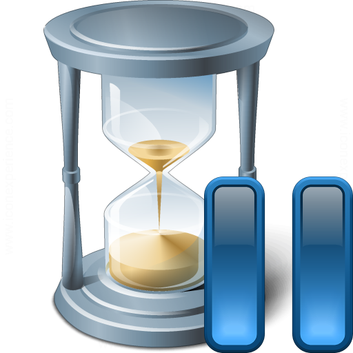 Hourglass Pause Icon