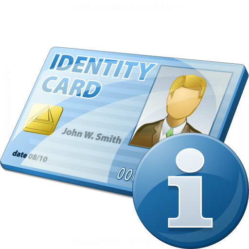 Id Card Information Icon