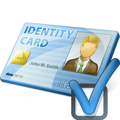 Id Card Preferences Icon