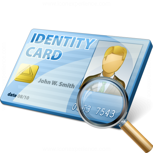 Id Card View Icon