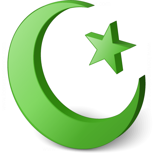 Islamic Crescent Icon