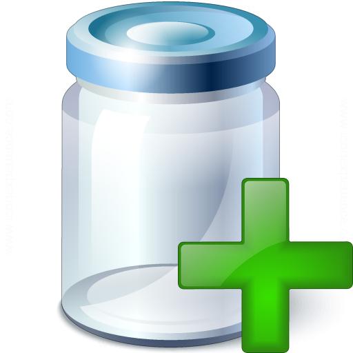 Jar Add Icon