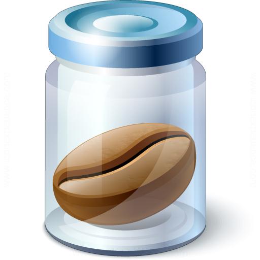 Jar Bean Icon