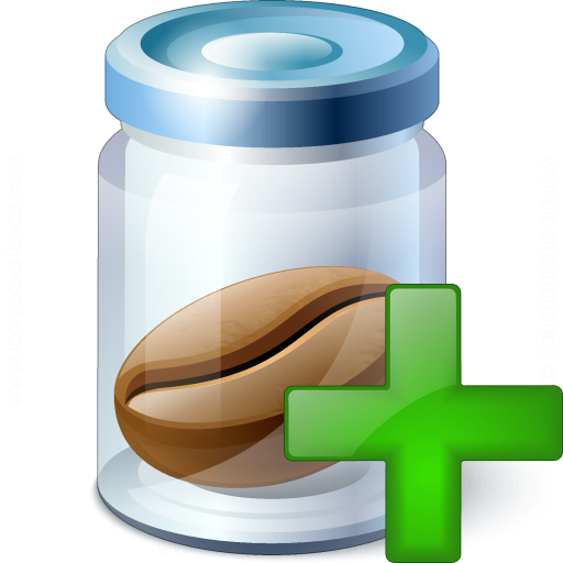 Jar Bean Add Icon