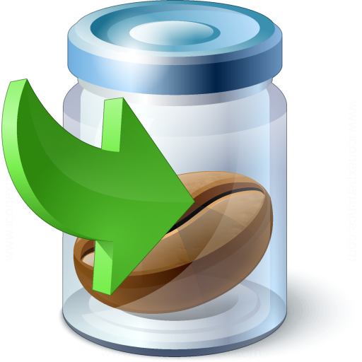 Jar Bean Into Icon