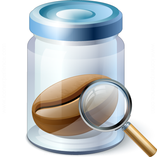 Jar Bean View Icon