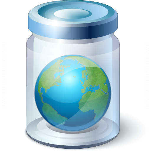 Jar Earth Icon