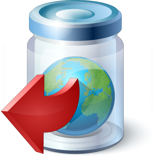 Jar Earth Out Icon