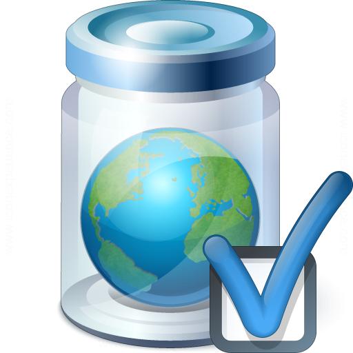 Jar Earth Preferences Icon