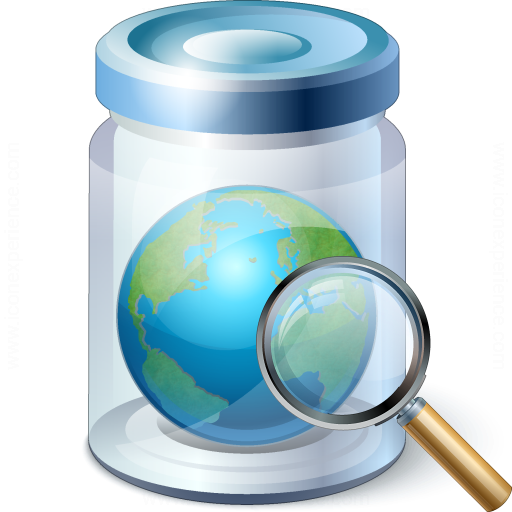 Jar Earth View Icon