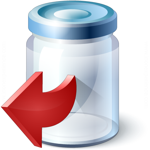 Jar Out Icon