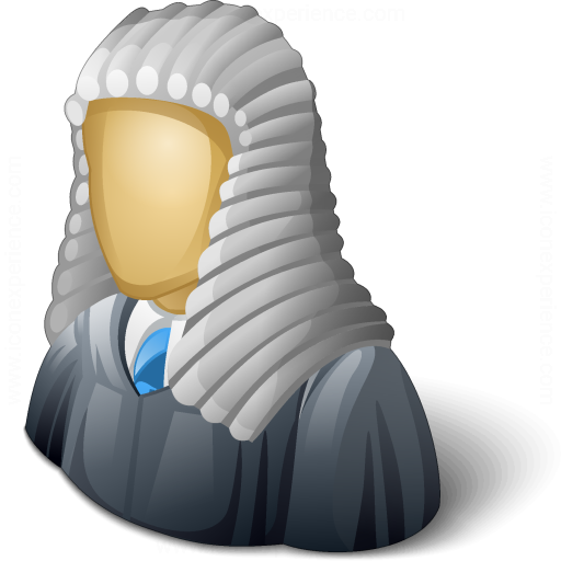 Judge Wig Icon