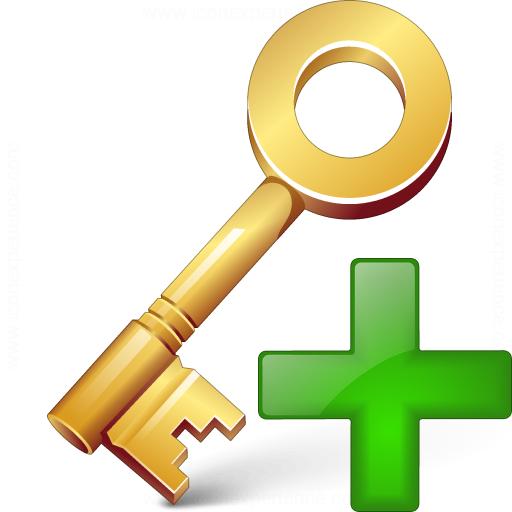 Key Add Icon