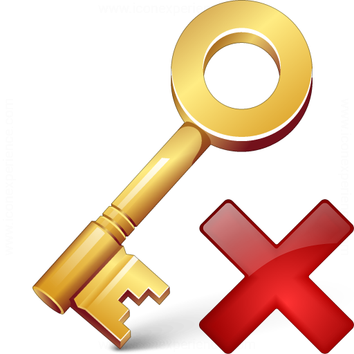 Key Delete Icon