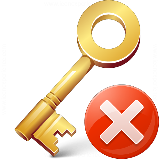 Key Error Icon