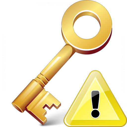 Key Warning Icon