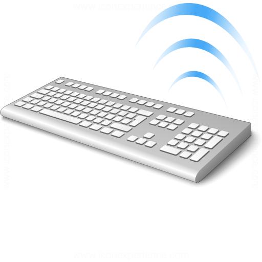 Keyboard Cordless Icon