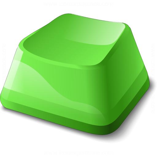 Keyboard Key Green Icon