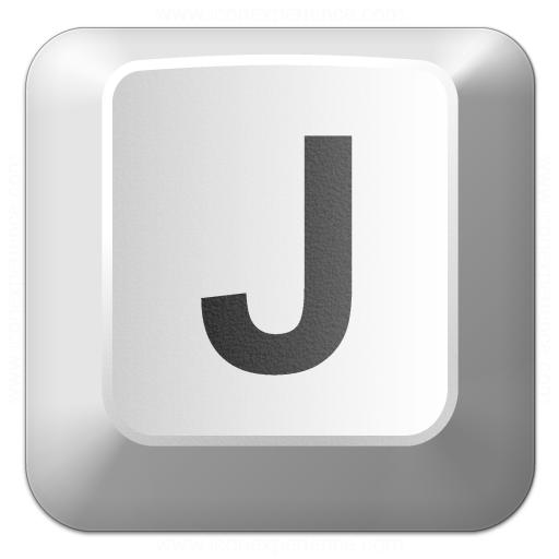 Keyboard Key J Icon