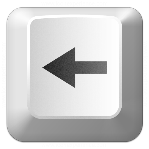 Keyboard Key Left Icon
