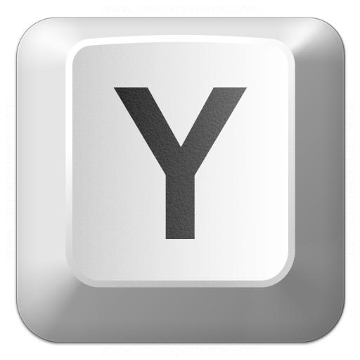 Keyboard Key Y Icon