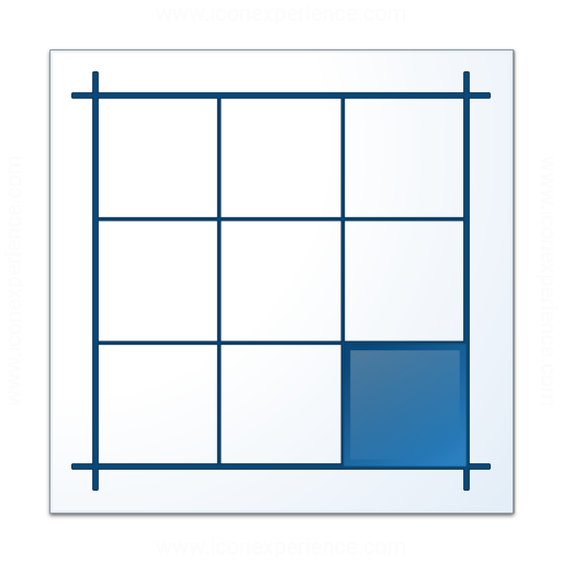 Layout Southeast Icon